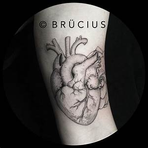26 Awesome Real Heart Tattoos Designs And Images