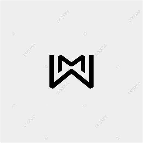 letter  mw wm monogram logo design minimal icon template     pngtree