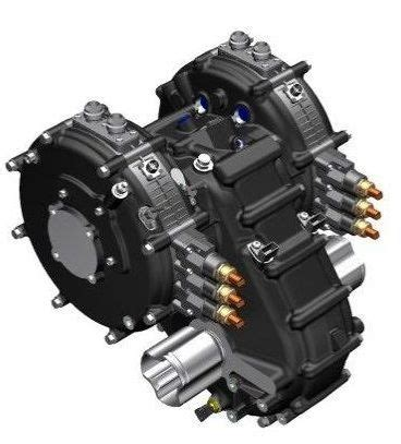 Electric Vehicle Engine by Yasa Motor With Xtrac Gearbox With Torque Vectoring
