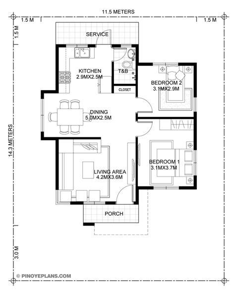 katrina stylish  bedroom house plan pinoy eplans