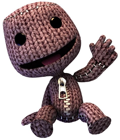 Green Monster Light by Image Sackboy Sitting Png Littlebigplanet Quantum Of