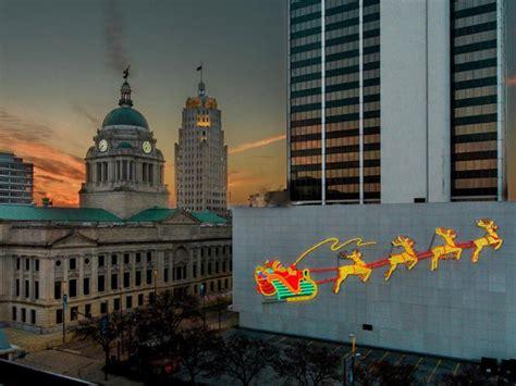 wayne fort light christmas downtown holiday displays indiana visit santa lights guide