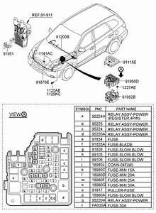 919502b620 - Hyundai Junction Box Assembly