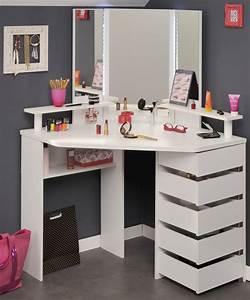 Schminktisch Mit Vielen Schubladen : eck schminktisch frisierkommode kosmetiktisch spiegel weiss neu ebay ~ Orissabook.com Haus und Dekorationen