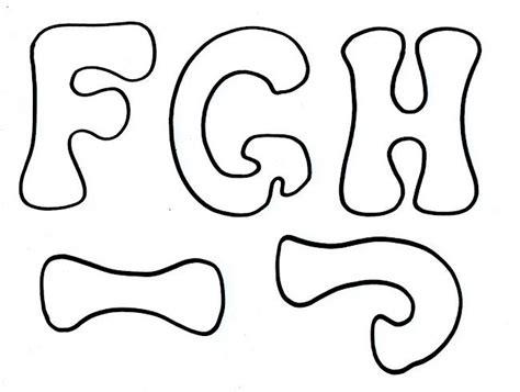 moldes de letras para murales escolares imagui letras para decorar lettering letters
