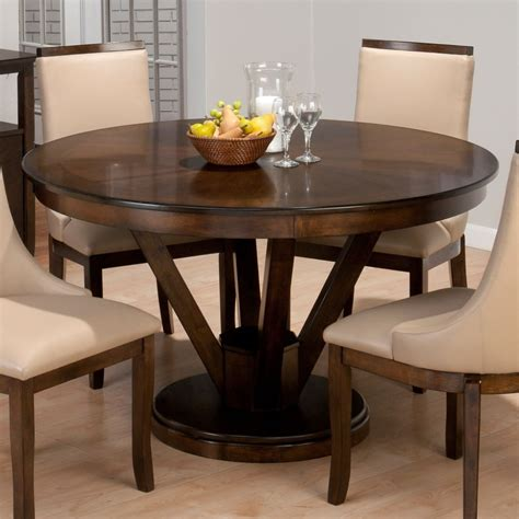 Formal Dining Room Ideas With Simple Wooden 60 Inch Round