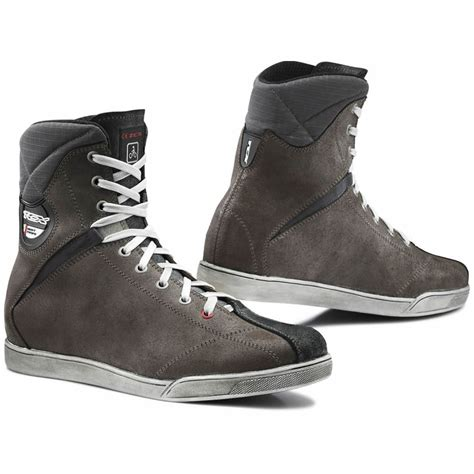mens casual motorcycle boots tcx x rap mens lace up waterproof casual motorcycle riding