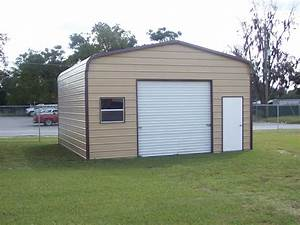 20 x 21 x 10 garage choice metal buildings With 2 car garage metal building