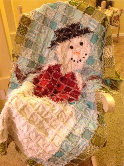 make a rag strip christmas tree snowman rag quilt mostly moda aspen line my quilts stuff rag quilt patterns
