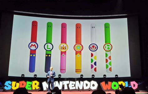 super nintendo bands power app japan smartphone universal studios reveals wrist parque band regarding announced vistazo diversiones primer mario musical