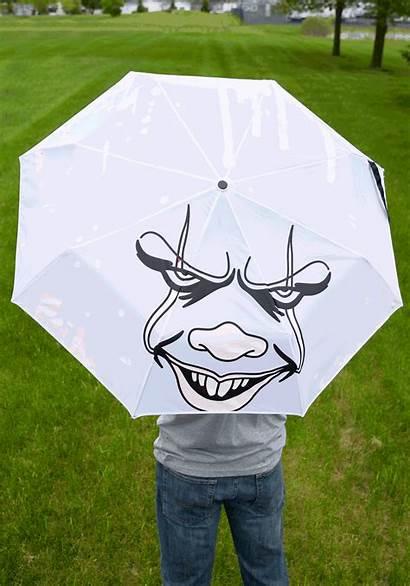 Pennywise Face Umbrella Liquid Reactive Fun Gifts