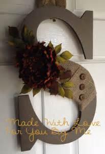 fall door wreath ideas  designs