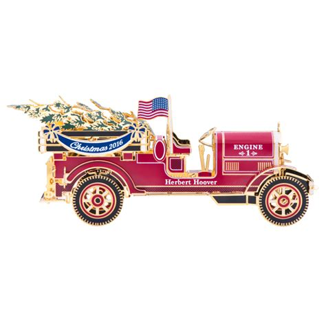 2016 fire truck white house christmas ornament the white
