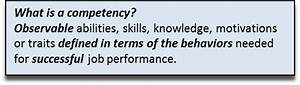 The Competency-... Competent Definition