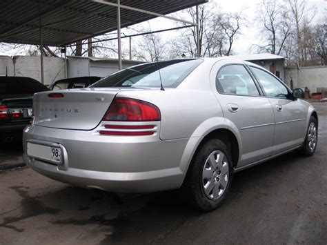 Dodge Stratus 24 2002  Auto Images And Specification
