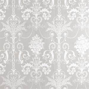 White and grey wallpaper 2017 grasscloth wallpaper for Best brand of paint for kitchen cabinets with pochettes papier