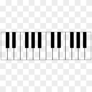 Traueranzeige motiv klaviertastatur a 016. Klaviertastatur Zum Ausdrucken / Die Klaviatur Alles Uber Die Schwarzen Weissen Tasten Keyboards ...