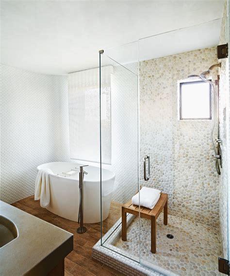 salle de bain galets 30 cool pictures and ideas pebble shower floor tile