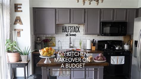 diy kitchen makeovers on a budget halfstack at home diy kitchen makeover on a budget 9598