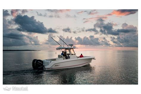 Whaler Motorboat by Motorboat Rent Boston Whaler 280 Outrage In Port Camille