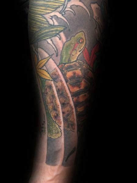 japanese turtle tattoo ideas  men shelled designs