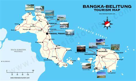 bangka belitung map peta bangka belitung