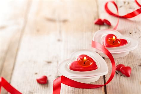 wallpaper valentines day candle ribbon romantic love