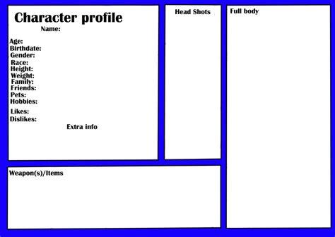 Profile Template Character Profile Template Sadamatsu Hp