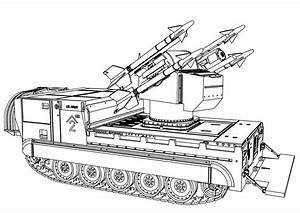 Army Tank - Free Colouring Pages
