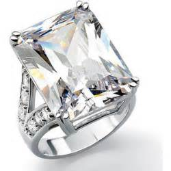 jtv engagement rings jewelry cubic zirconia ring 32 silver luce jtv polyvore