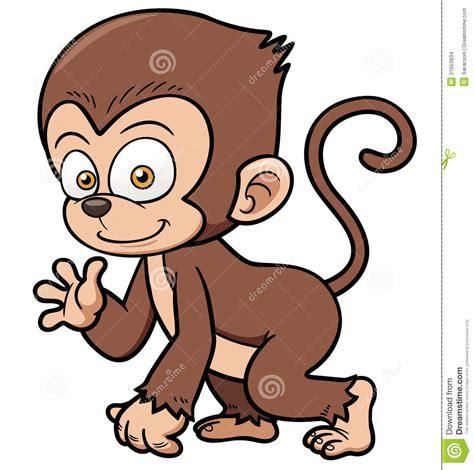 macaco dos desenhos animados imagens de stock imagem 31653934