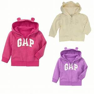 New Baby Gap Authentic Girls Boys Arch Logo Bear Ears ...