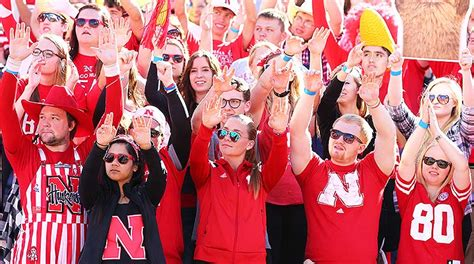 husker nation remains  house divided   loss  byu