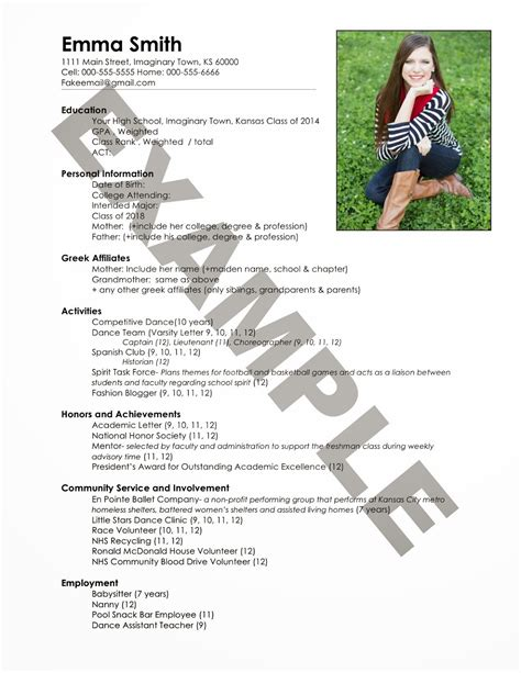sorority resume template free the ultimate guide to sorority recruitment how to write a resume seeking the south