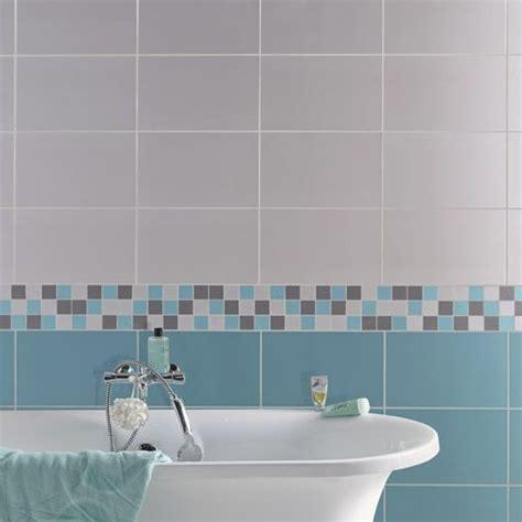 carrelage mural home en fa 239 ence gris galet n 176 5 25 x 40 cm maison salle de bain