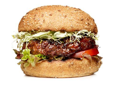 garden burger recipe easy burger topping ideas food network hamburger and