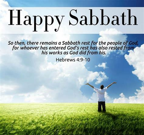 happy sabbath facebook quotes