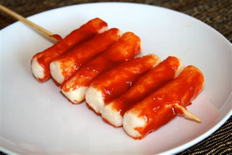 ddeok ko chi spicy fried korean rice cake sticks recipe