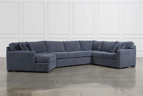 milari sofa living spaces cypress 3 sectional living spaces
