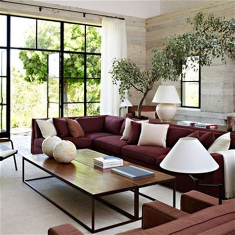 colour scheme for burgundy sofa remodelaholic real life rooms neutral living room with