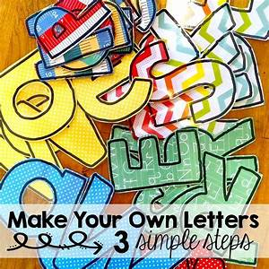 diy bulletin board letters that won39t use up all of your With pre cut letters for bulletin boards