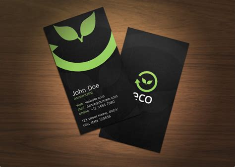 47+ Nature Business Card Templates Business Card App For Outlook Reader Salesforce Avery Template Openoffice Gift Best Artist Format Instructions C32024