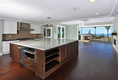 granite topped kitchen island 53 high end contemporary kitchen designs with
