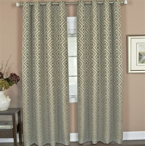 curtain rods for grommet drapes home design ideas