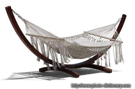 Hammock Dictionary by Hammock Photo Picture Definition At Photo Dictionary
