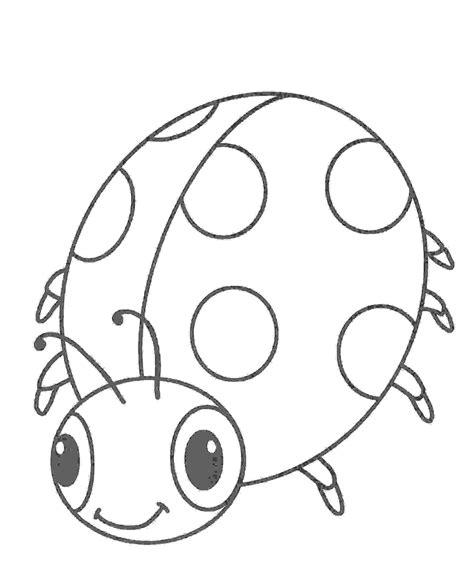 marienkaefer ausmalbild malvorlagen pinterest