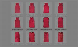 Tank Top Mockup Photoshop Men 39 S Ribbed Tank Top Templates Pack By Go Media