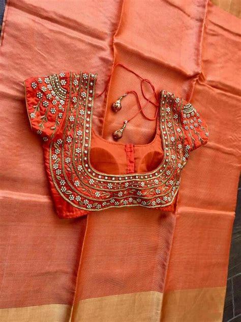 latest saree blouse designs     amaze