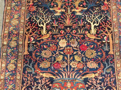 fine bakthiary tree  life rug displaying  garden