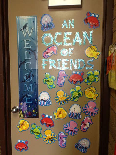 kindergarten classroom door decorations 36 best images about rainbow fish kindergarten on